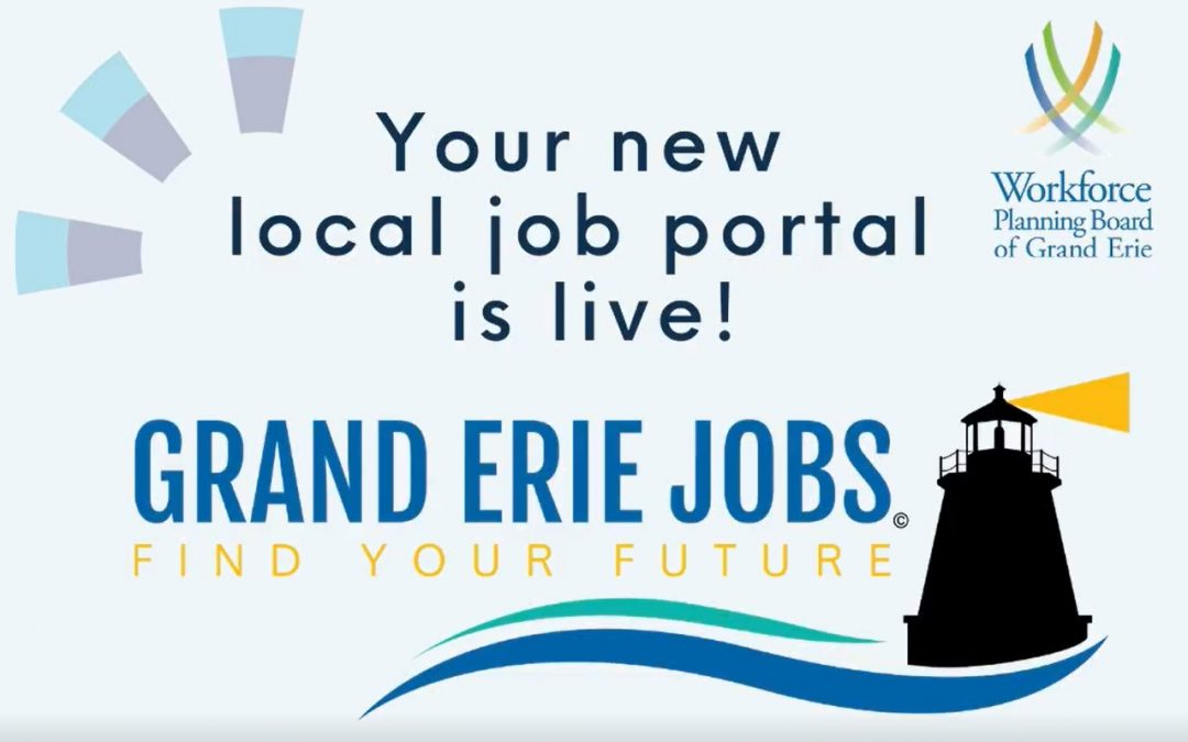 Illustration for Grand Erie Jobs portal
