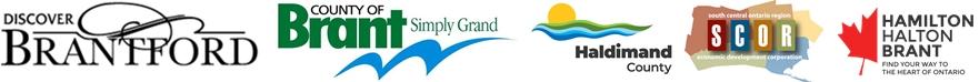 Logos of corporate sponsors