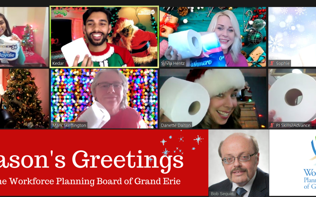 Season's Greetings from the Workforce Planning Board
