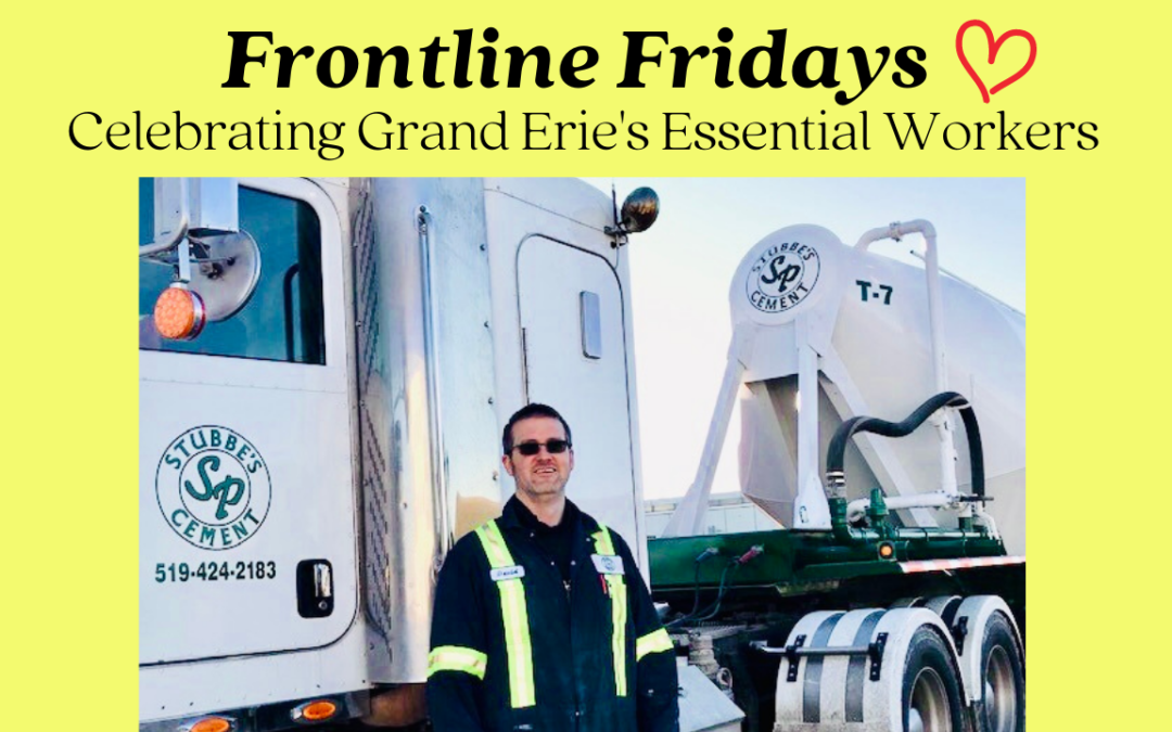 Celebrating Grand Erie's Essential Workers – David