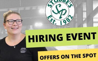 Stubbe's Precast holds Job Fair Sept. 11th