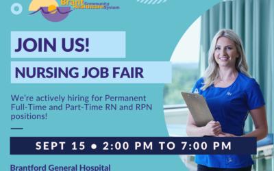Nursing Career Fair at Brantford Hospital