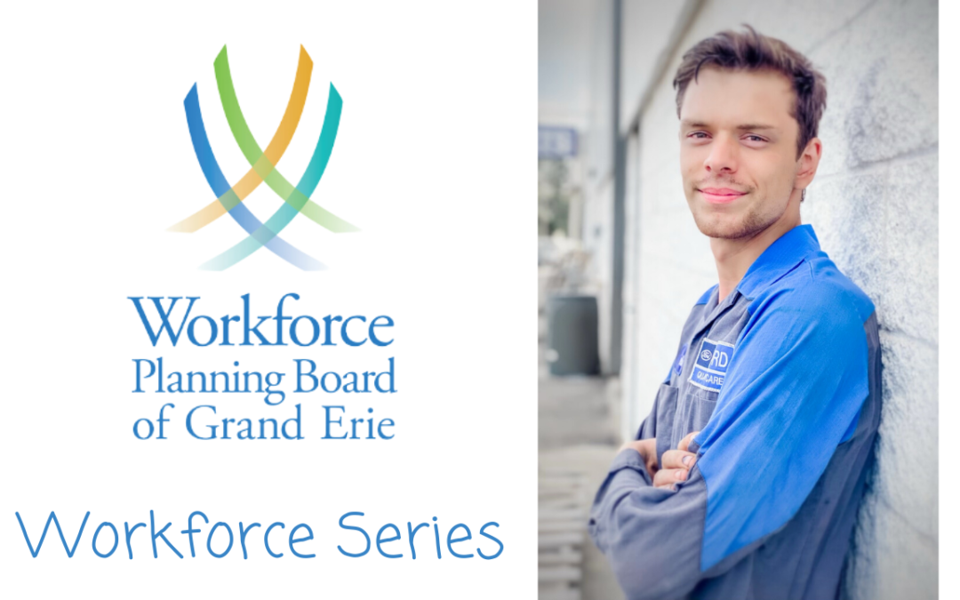 Workforce Series – Interview with Caleb Haines